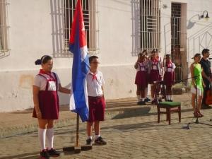Cuba, cérémonie Fidel